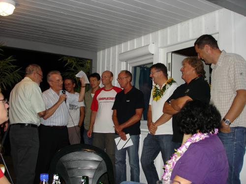 Siegerehrung Clubmeisterschaften 09.09.11