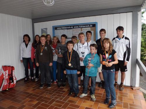 8805-Siegerehrung Clubmeisterschaften Jugend TCB-21.07.2012