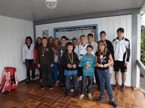 8808-Siegerehrung Clubmeisterschaften Jugend TCB-21.07.2012