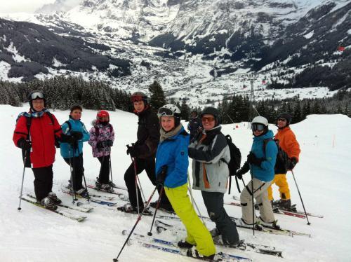 Skitagesfahrt Grindelwald 08.02.14