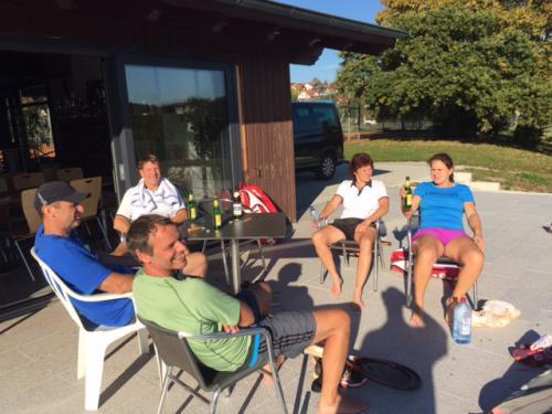 Tennisplatztest in Empfingen 16.10.16